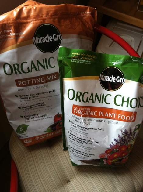 Big (Green) Deal: Garden Progress with Miracle-Gro Organic
